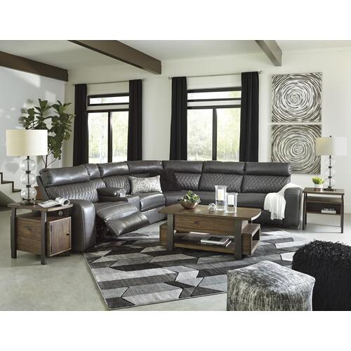 6 Piece Power Modular Sectional