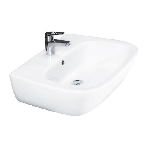 Elena 500 Wall-Hung Basin - Single-Hole