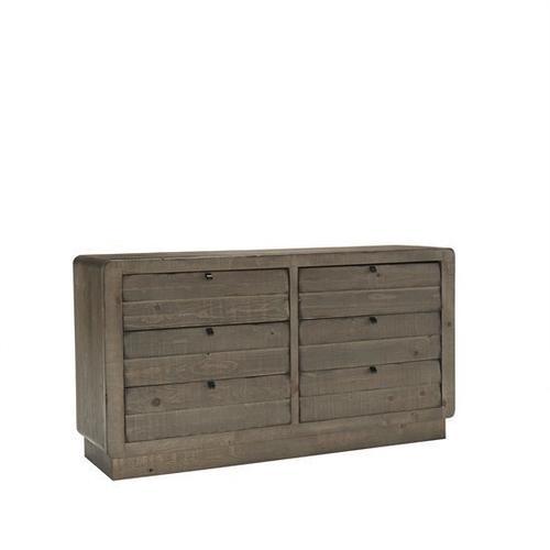 Drawer Dresser - Mocha Finish