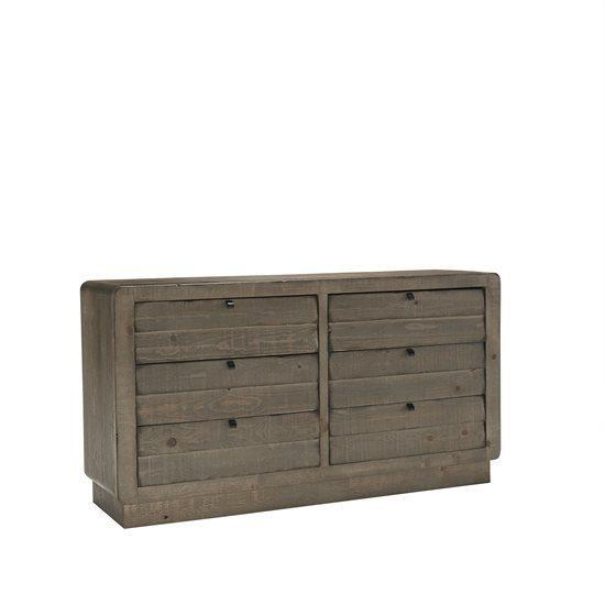 Drawer Dresser - Mocha Finish