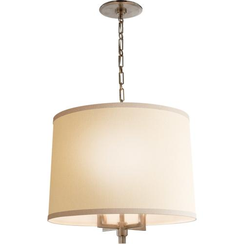 Barbara Barry Westport 4 Light 23 inch Pewter Finish Hanging Shade Ceiling Light