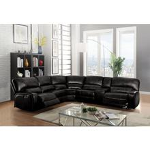 SAUL BLACK POWER SEC.SOFA