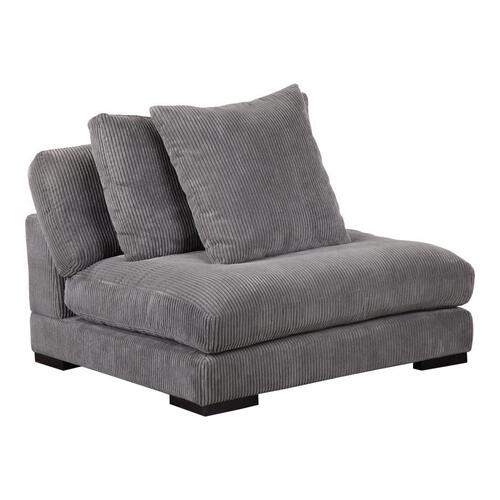 Moe's Home Collection - Tumble Slipper Chair Charcoal