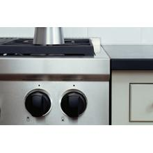 Sealed Burner Rangetop with Wok Black Knobs