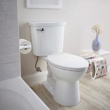 View Product - VorMax HET Elongated Toilet  1.28 GPF  American Standard - Bone