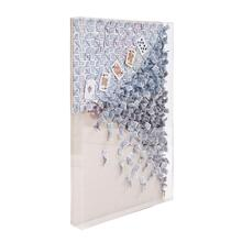 View Product - 5 Straight Recycled Wall Art