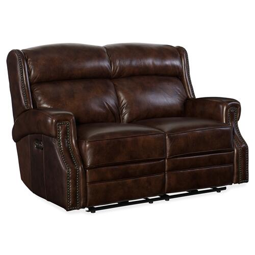 Hooker Furniture - Carlisle Power Recliner Loveseat w/ Power Headrest
