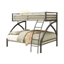 Product Image - Twin-over-full Metal Bunk Bed