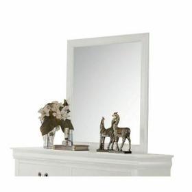 ACME Louis Philippe Mirror - 23834 - White