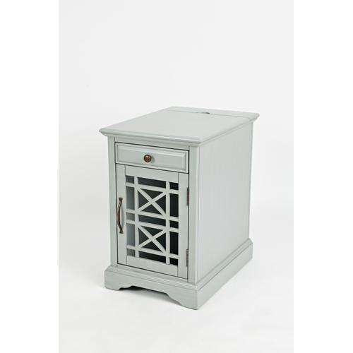 Jofran - Craftsman Power Chairside Table