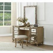 ACME Orianne Vanity Desk - 23797 - Antique Gold Product Image