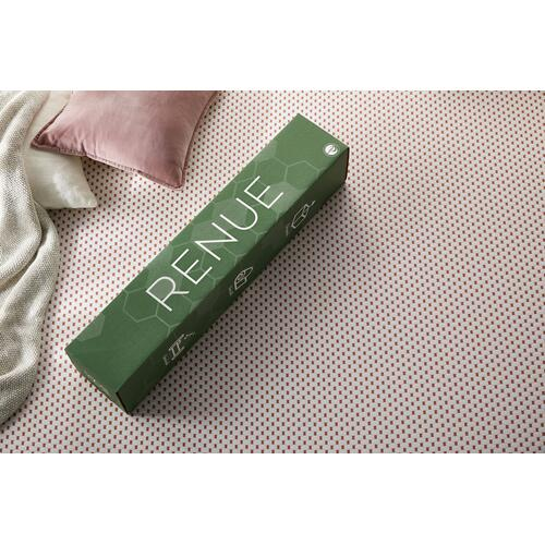 "Renue 3"" Hybrid Dual-Sided Mattress Topper with Micro Coils, Queen"
