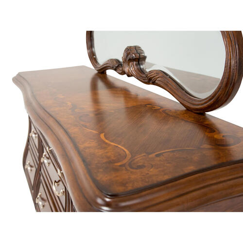Storage Console- Dresser & Mirror 2 PC