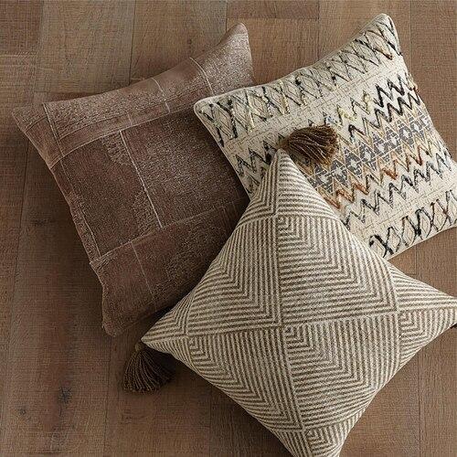 Ezra Pillow Cover Natural