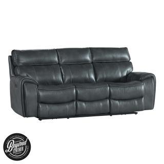 See Details - Summit Dual-Power Sofa  Bolero Slate