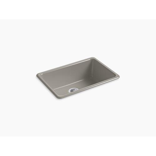 """Cashmere 27"""" X 18-3/4"""" X 9-5/8"""" Top-mount/undermount Single-bowl Kitchen Sink"""