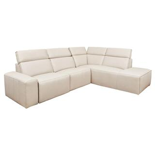 Carlsbad Sectional w/RAF Corner Island Wheat