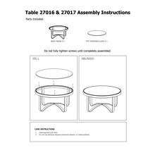 See Details - Round Metal Coffee Table