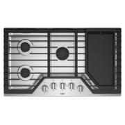 36-inch Gas Cooktop with Griddle Product Image