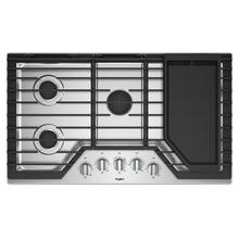 36-inch Gas Cooktop with Griddle / New In Box / Linthicum Md. / ID:430546  CNTR