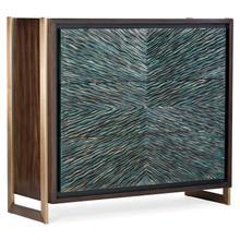 Living Room Melange Ophelia Three-Drawer Turquoise Chest