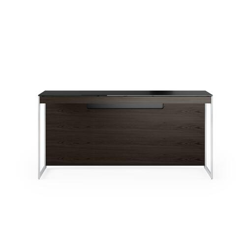 BDI Furniture - Sequel 20 6102 Console/Laptop Desk in Charcoal Satin Nickel