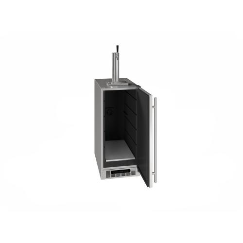 "15"" Beer Dispenser With Stainless Solid Finish (115 V/60 Hz Volts /60 Hz Hz)"