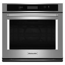 """See Details - 27"""" Single Wall Oven with Even-Heat™ True Convection - Stainless Steel"""