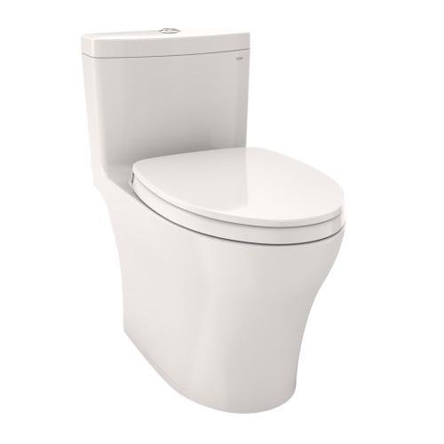 Aquia® IV One-Piece Toilet - 1.28 GPF & 0.8 GPF, Elongated Bowl - WASHLET+ Connection - Colonial White