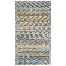 American Legacy Natural Blue Braided Rugs
