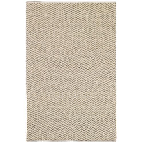 Chevron Linen Flat Woven Rugs