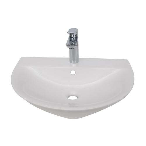 Morning 500 Wall-Hung Basin - Single-Hole