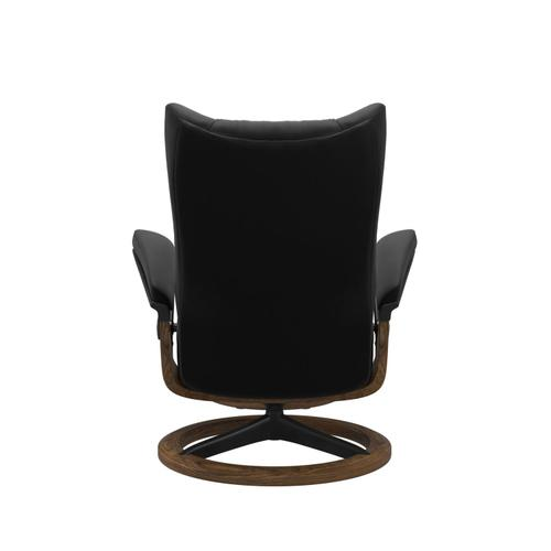Stressless By Ekornes - Stressless® Wing (M) Signature chair with footstool