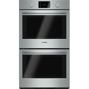 """BOSCH500 Series, 30"""", Double Wall Oven, SS, Thermal/Thermal, Knob Control"""