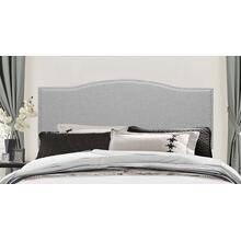 Kiley Headboard - King - Glacier Gray