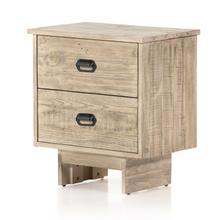 View Product - Weathered Wheat Finish Baxter Nightstand