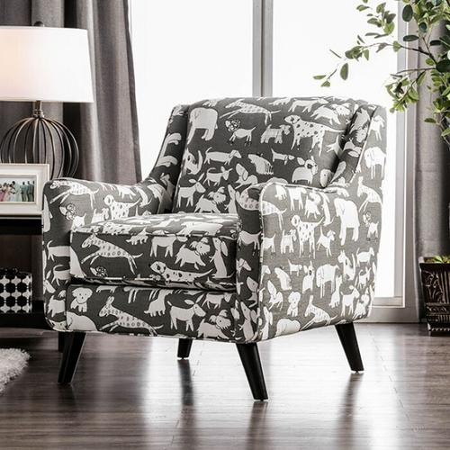 Gallery - Patricia Animal Pattern Chair