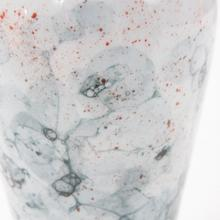 View Product - Gray and White Soap Bubble Porcelain Vase, Medium