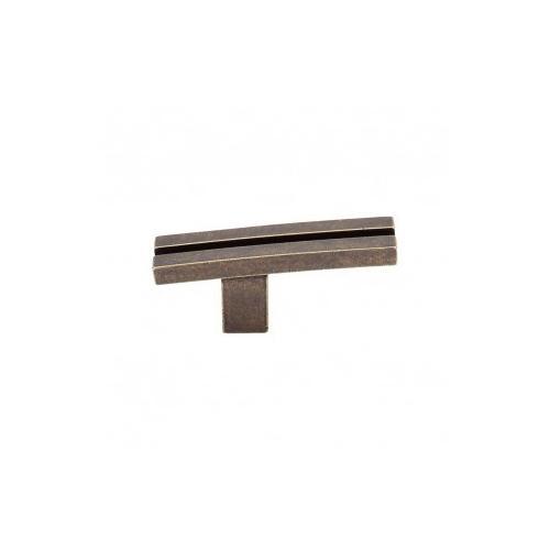 Inset Rail Knob 2 5/8 Inch - German Bronze