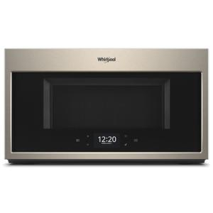 Whirlpool1.9 cu. ft. Smart Over-the-Range Microwave with Scan-to-Cook technology Fingerprint Resistant Sunset Bronze