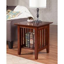 See Details - Mission End Table Walnut