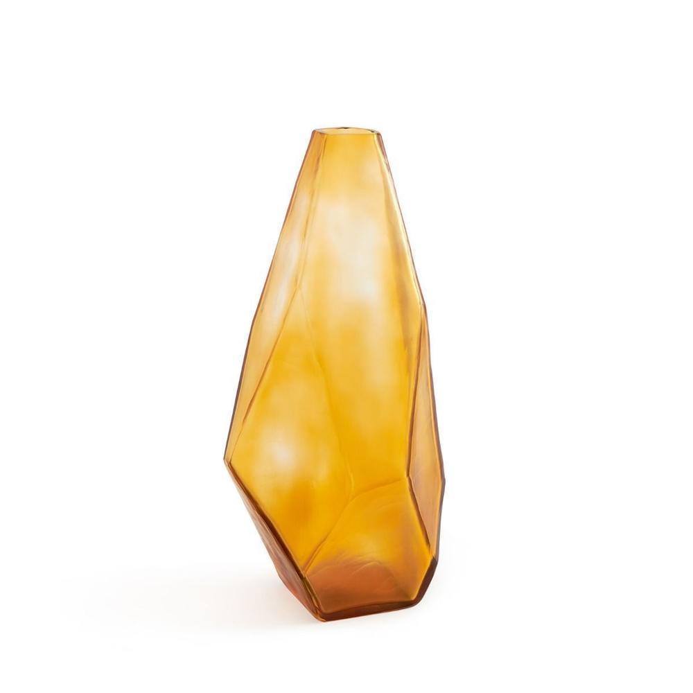 See Details - Asscher Vase, Amber