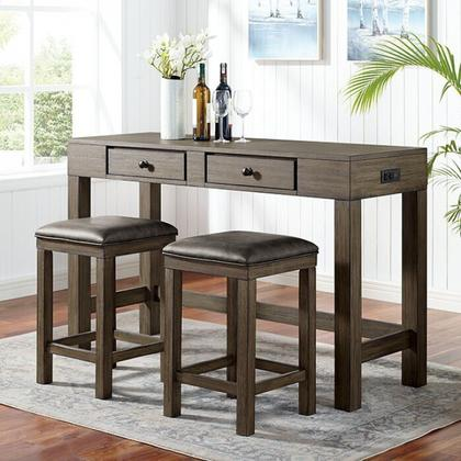 See Details - Gualde 3 Pc. Counter Ht. Table Set
