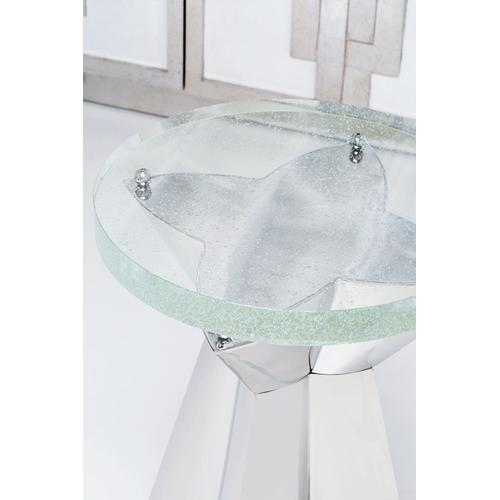 Anika Round Chairside Table