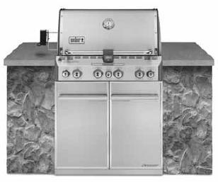 Weber - SUMMIT® S-460™ NATURAL GAS GRILL - STAINLESS STEEL