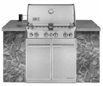SUMMIT™ S-460™ NATURAL GAS GRILL - STAINLESS STEEL