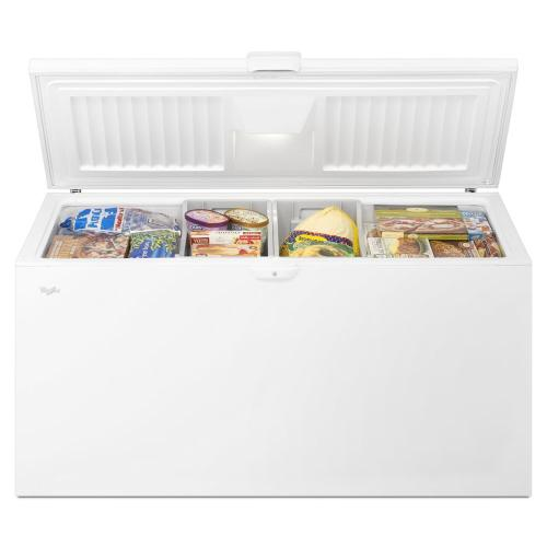 Whirlpool® 22 cu. ft. Chest Freezer with Extra-Large Capacity