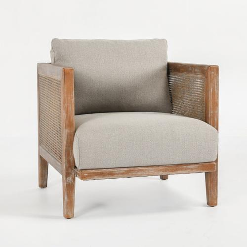 Classic Home - Douglas Accent Chair Taupe