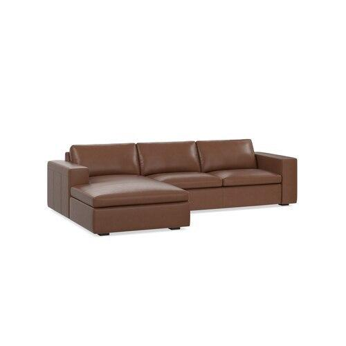 Melina Bark Melina 2 Piece Left Chaise Sectional