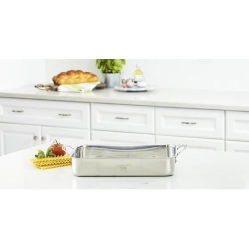"14"" Lasagna Pan with Stainless Roasting Rack"